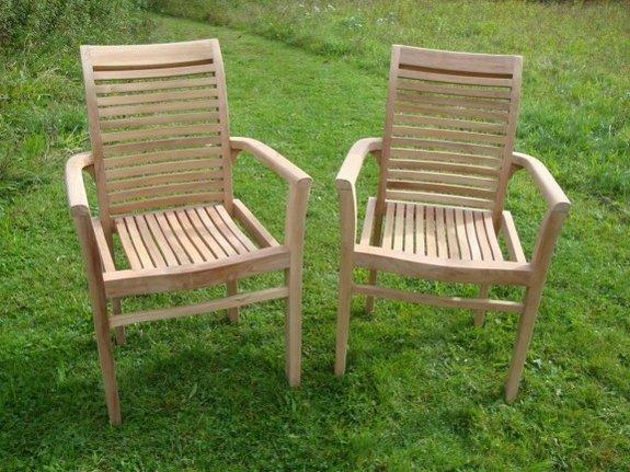 Teak tuinset Venice 160 + 8 stoelen hori+kussen