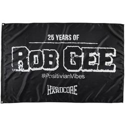 100% Hardcore Fahne '100% Hardcore VS Rob GEE'