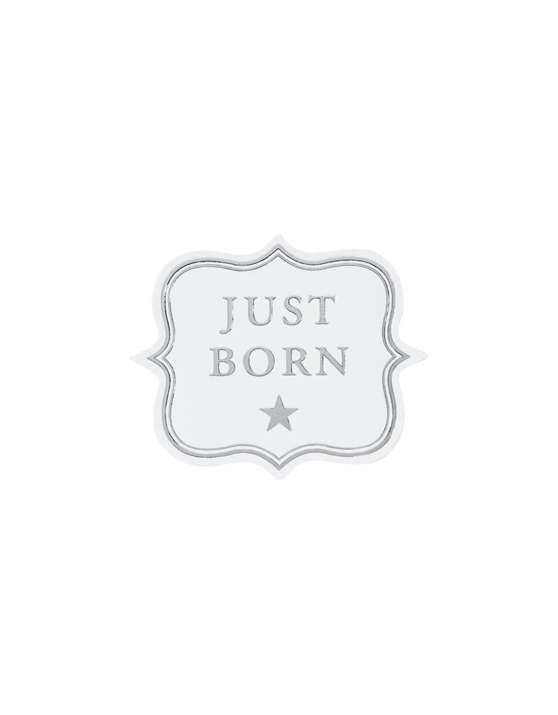 Buromac Sluitzegels Just Born per vel van 10 stuks