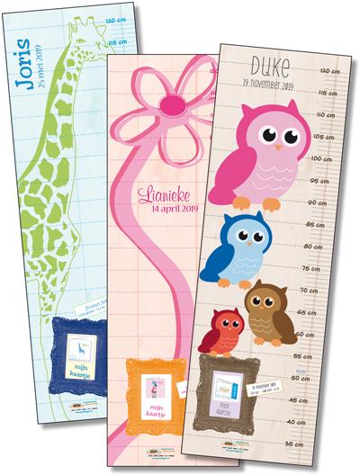 gratis groeimeter bij geboortekaarten Printtijgers