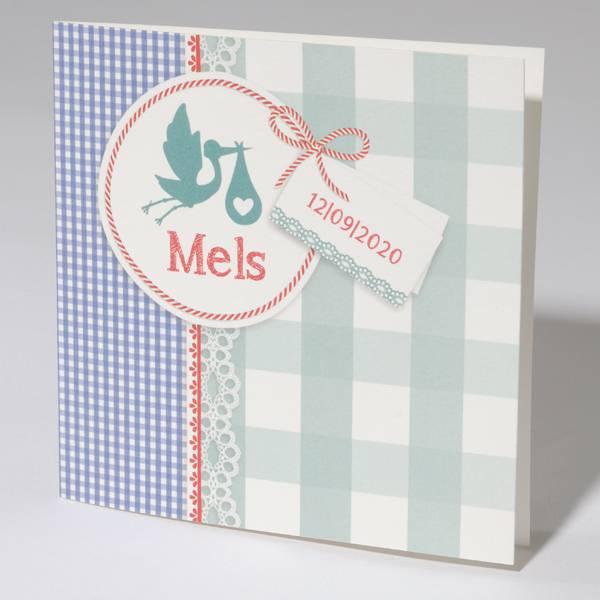 Familycards Klein Wonder Geboortekaartje Mels (63679)