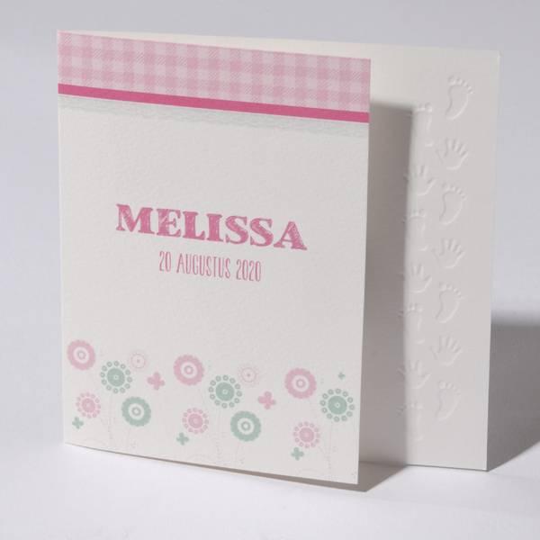 Familycards Klein Wonder Geboortekaartje Melissa (63699)