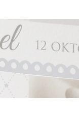 Familycards Klein Wonder Geboortekaartje Wessel (63749)