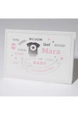 Familycards Klein Wonder Geboortekaartje Mara (63757)