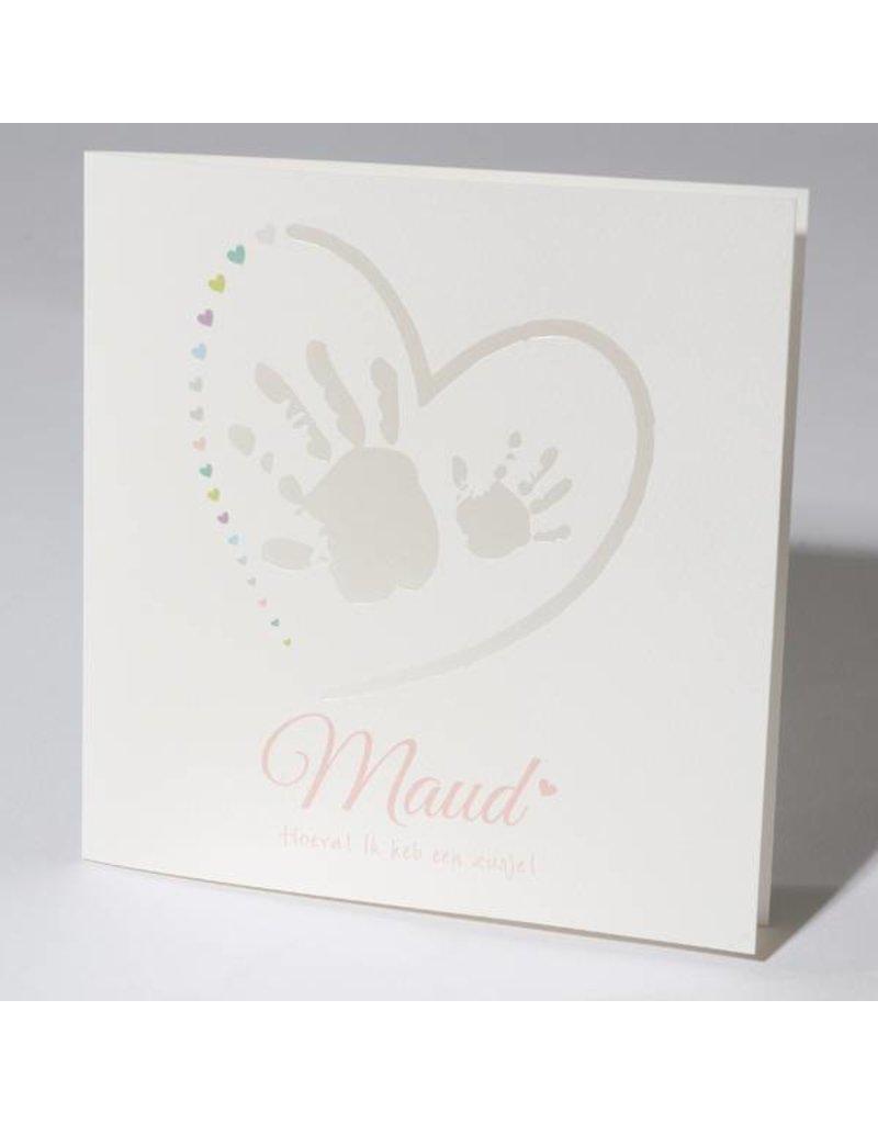 Familycards Klein Wonder Geboortekaartje Maud (63758)