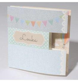 Familycards Klein Wonder Geboortekaartje Louka
