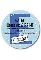 Extra printen in combinatie met trouwkaarten (999013)