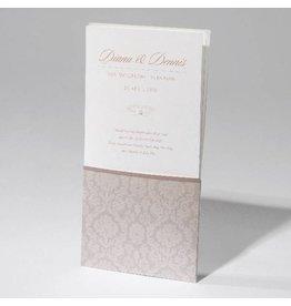 Familycards-Deel je Geluk Trouwkaart in luxe pochet met zelfklevend pareltje