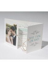 Familycards-Deel je Geluk Trouwkaart tying the knot (621682)