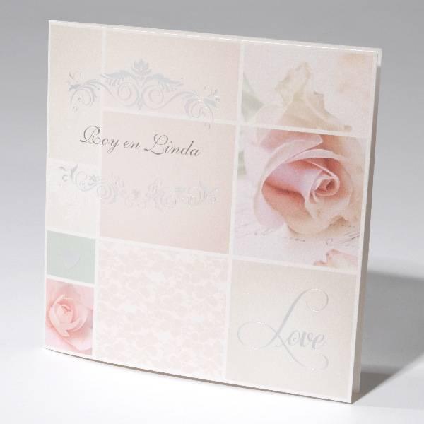 Familycards-Deel je Geluk Trouwkaart pink (621670)