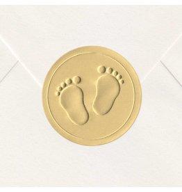 Sluitzegel Gouden voetjes