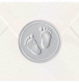 Sluitzegel Zilveren voetjes
