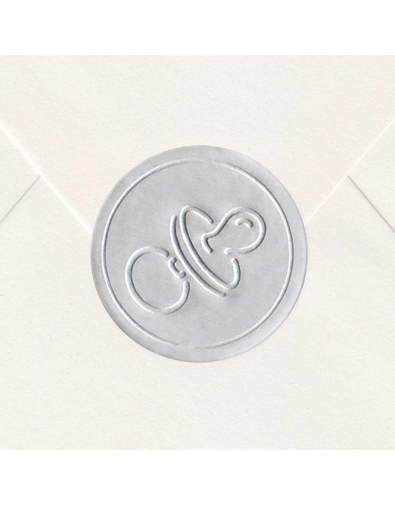 Sluitzegel Zilveren speentje (715116P)