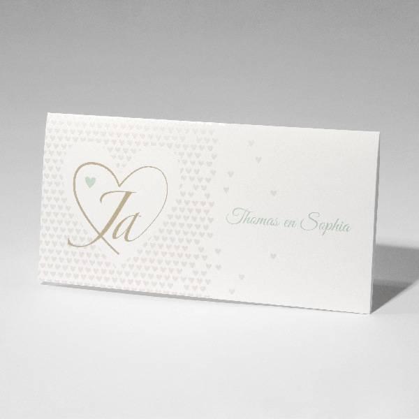 Familycards-Deel je Geluk Trouwkaart Hearts (621677)