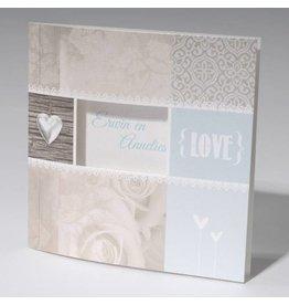 Familycards-Deel je Geluk Trouwkaart LOVE