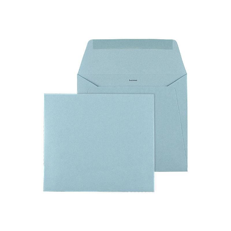 Mare Geboortekaartje met beertje in groen en blauw op zwaar papier (14-050-A)