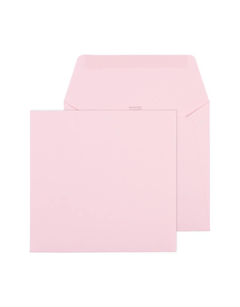 Buromac Pirouette Geboortekaart met glitterconfetti - roze (507046)