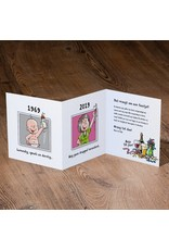Belarto Jubileum 2016 Uitnodiging 'have fun' cartoon vrouw (786114)