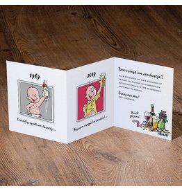 Belarto Jubileum Uitnodiging 'have fun cartoon man