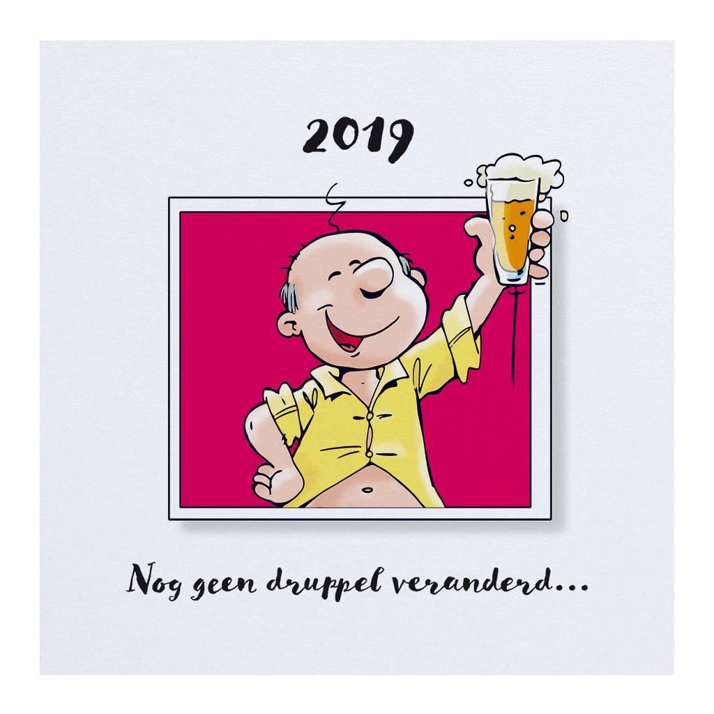 Belarto Jubileum 2016 Uitnodiging 'have fun cartoon man (786103)