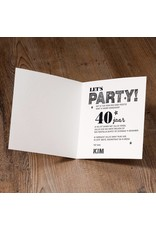 Belarto Jubileum Uitnodiging CELEBRATE confetti (786059)