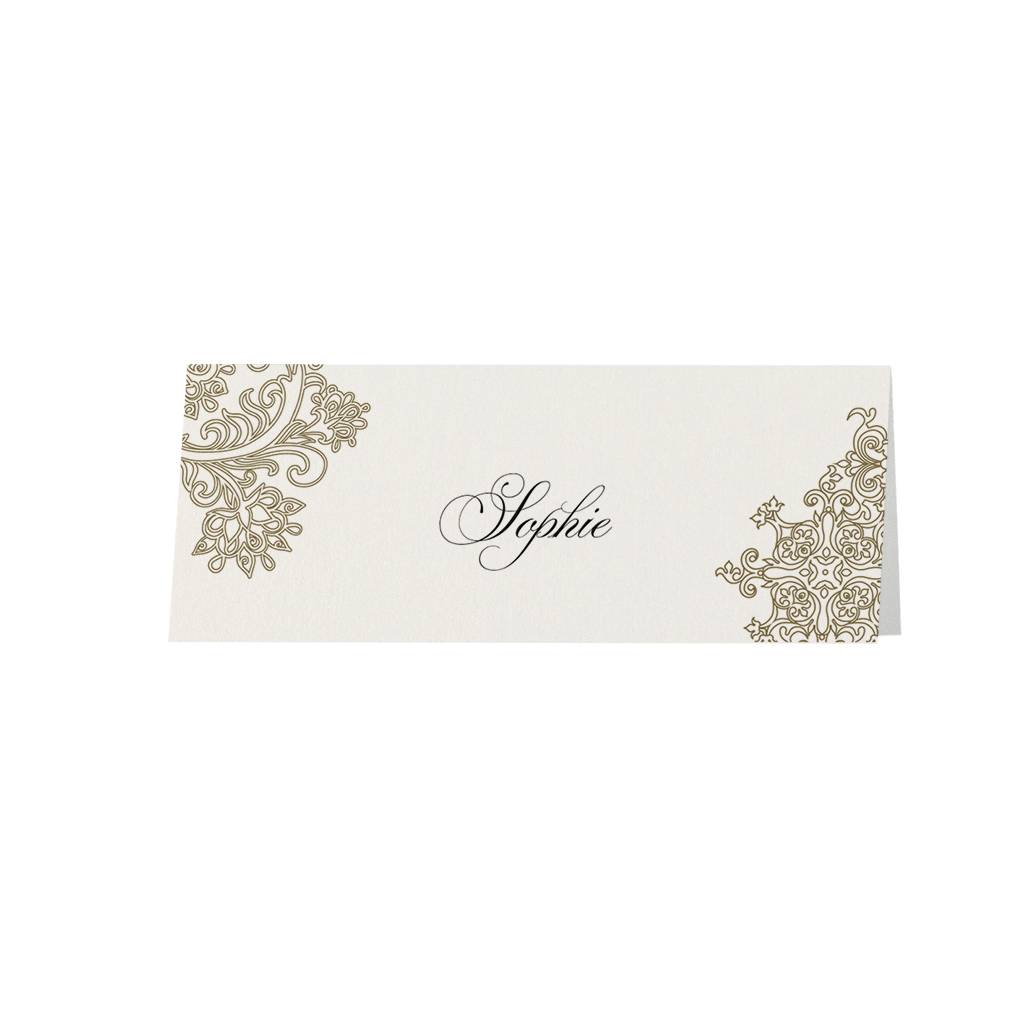 Belarto Jubileum 2016 Tafelkaart elegant met barok details (786795)