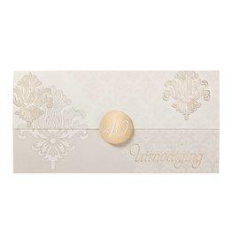 Belarto Jubileum 2016 Uitnodiging elegant in envelopvorm met sluitzegel