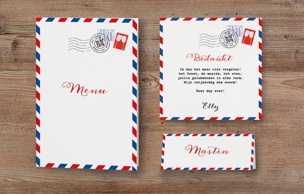 Belarto Jubileum Menukaart special postkaart (786670)