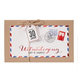 Belarto Jubileum Uitnodiging special postkaart