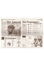 Belarto Yes We Do Trouwkaart - Het mag in de krant (728002)
