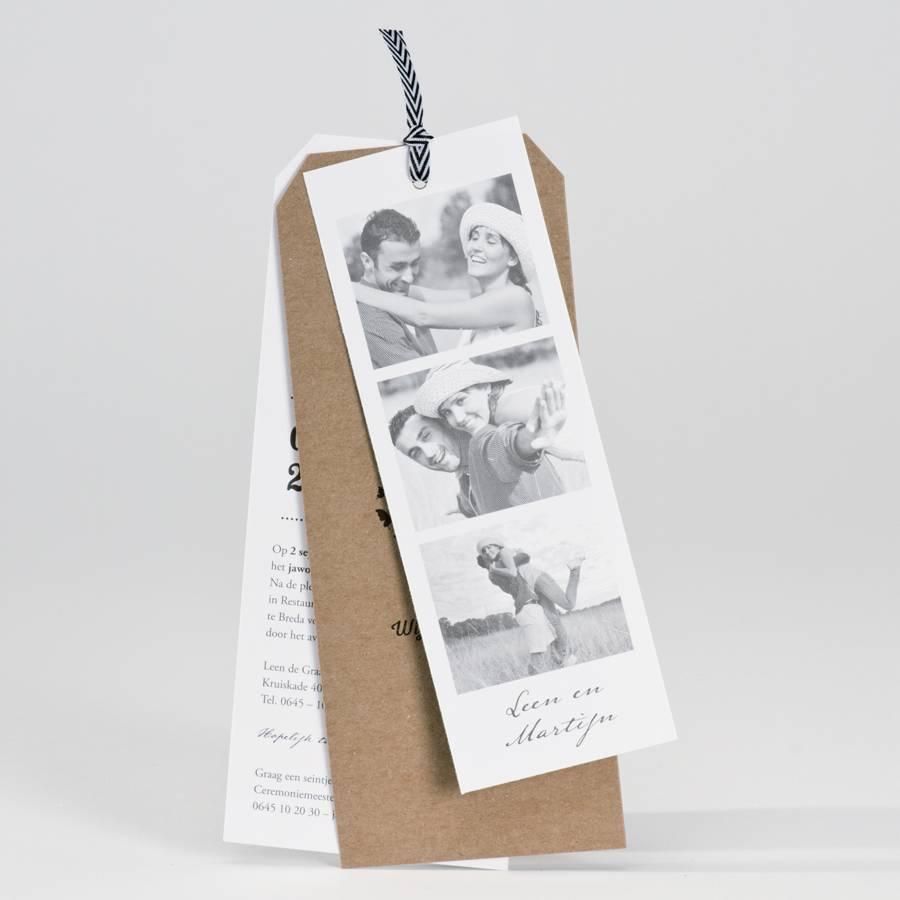 Buromac La Vie en Rose Filmstrip met eco trouwkaart (106138)