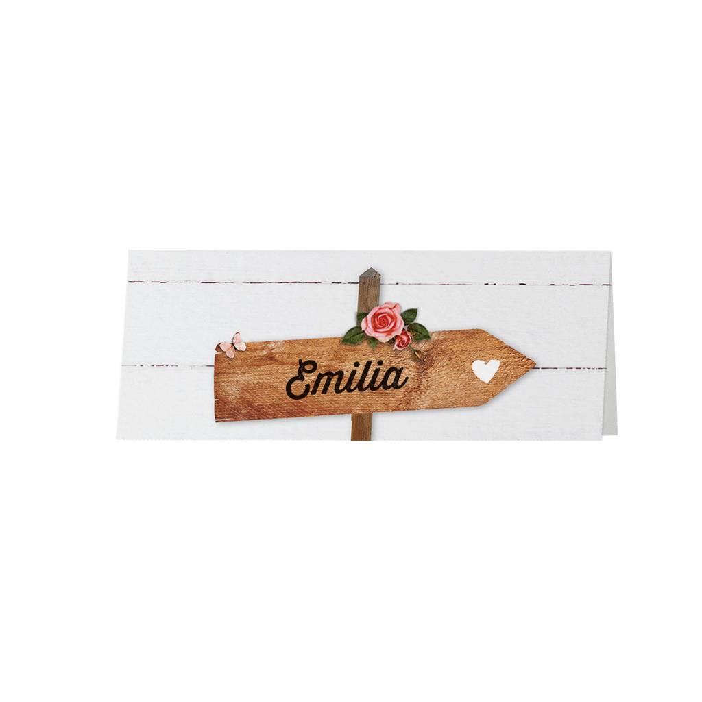 Belarto Jubileum Tafelkaart  met wegwijzerborden (786760)