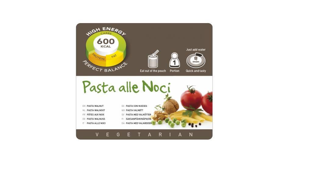 Adventure Food Vegetarian Freeze-Dried Meal: Pasta Walnut