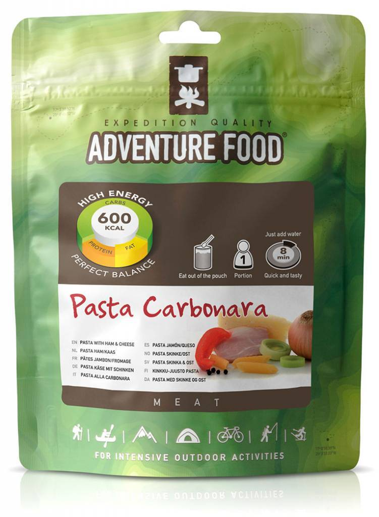 Adventure Food Freeze-Dried Meal: Pasta Ham / Cheese