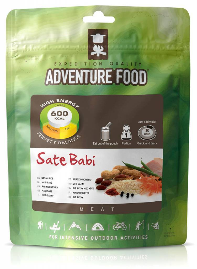 Adventure Food Freeze-Dried Meal: Fried Rice Satay
