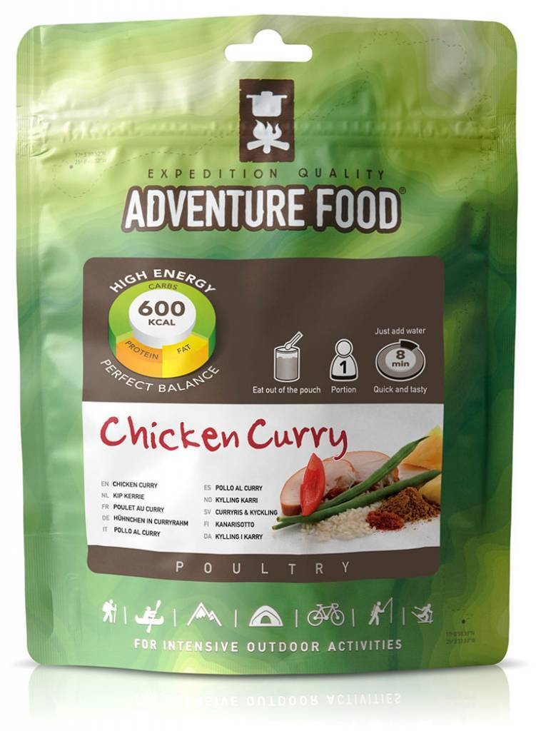 Adventure Food Freeze-Dried Meal: Chicken Curry