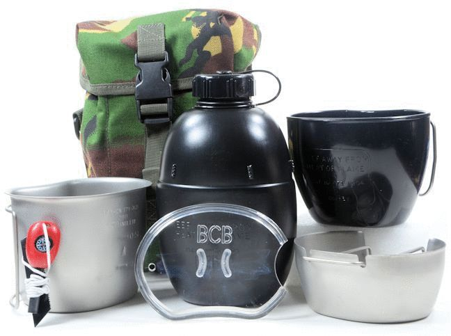 BCB Adventure Crusader Cooking System I Full set 6 piece (Stainless Steel & Silver)