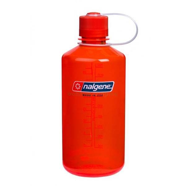 Nalgene NM Loop Top Bottle 1L Safety Orange