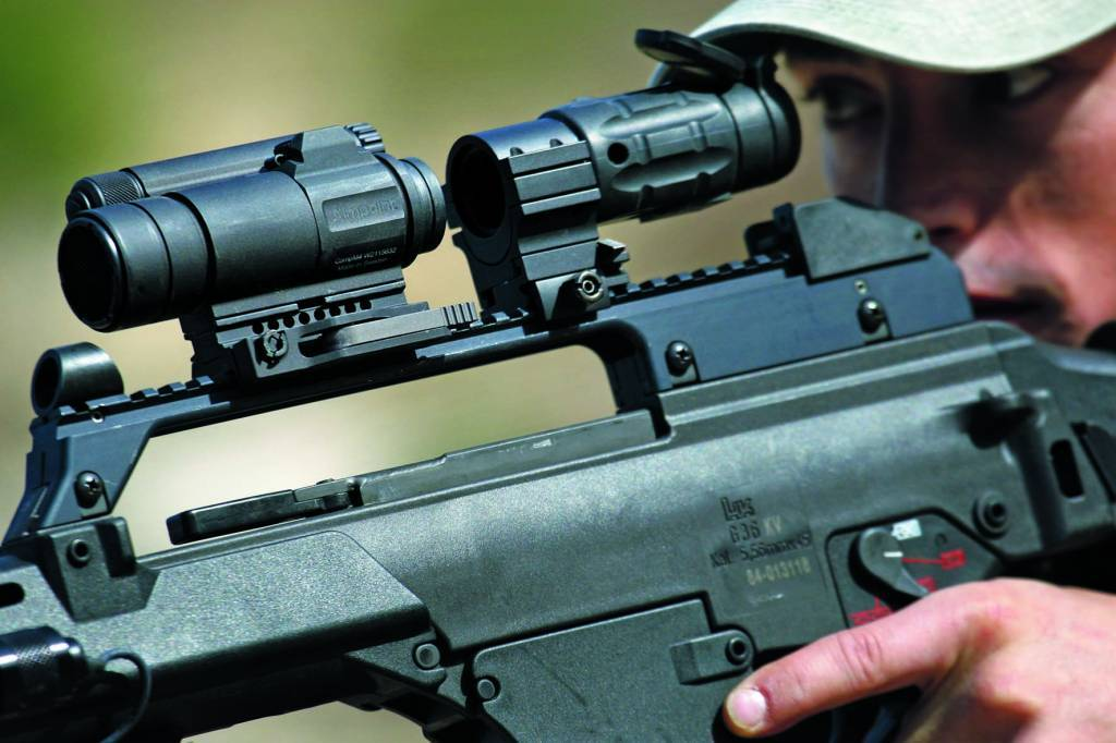 Aimpoint CompM4s (With spacer, LRP mount)