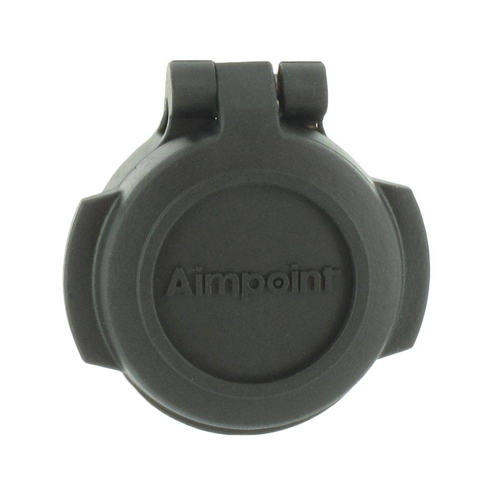 Aimpoint Lens Cover Micro Series, Flip-up, Front, Black.