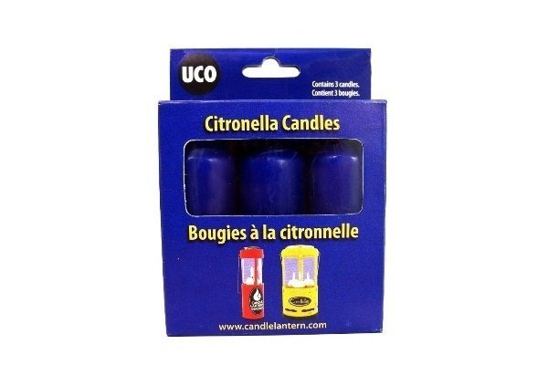 Uco 9-Hour Candles (citronel)