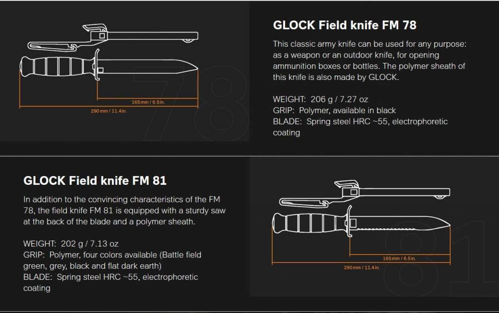 Glock Glock Survival Knife