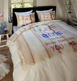 Dreamhouse Bedding Dekbedovertrek Love is Blue