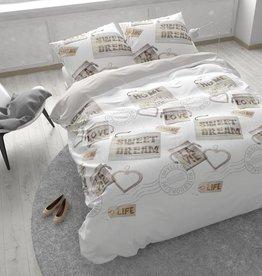Sleeptime Dekbedovertrek Homely Wit