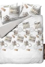 Sleeptime Dekbedovertrek Homely White (Wit)