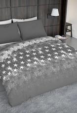 Wake-Up! Bedding Dekbedovertrek Fading Stars Grey (Grijs)