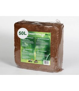 Kokos Kompakte Blumenerde Brick 50L