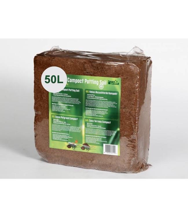 Kokos Kompakte Blumenerde Brick 50 liter