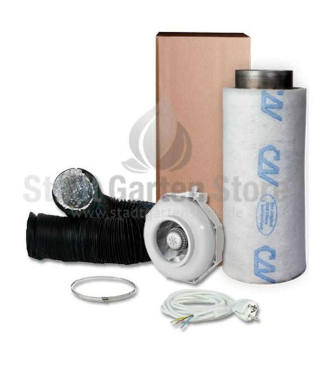 Can Fan  RK 160 Rohr Lite 600 Filter Abluft Set Ø160mm 460m³/h