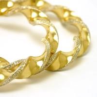 14 karaat geel gouden creolen